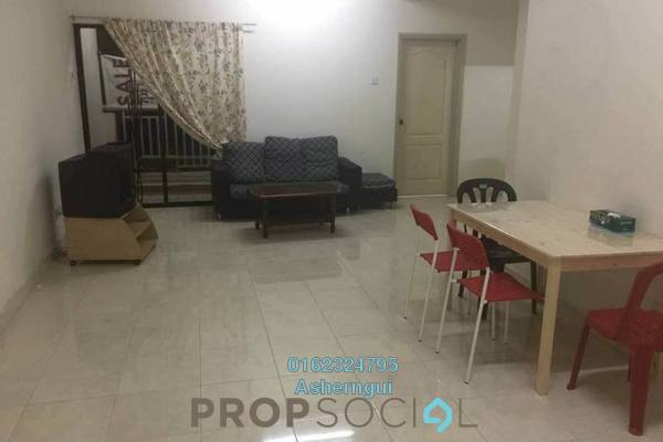 Condominium For Rent in Pelangi Utama, Bandar Utama Freehold Semi Furnished 3R/2B 1.7k