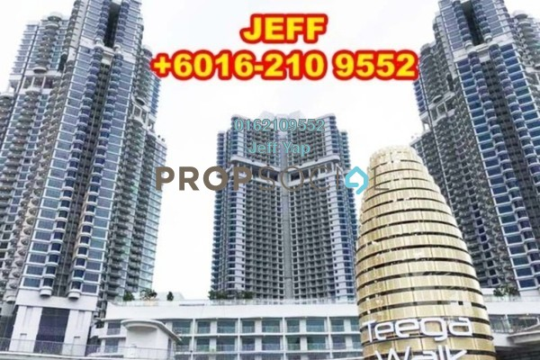 For Rent Serviced Residence at Teega, Puteri Harbour Freehold Fully Furnished 2R/2B 2.6k