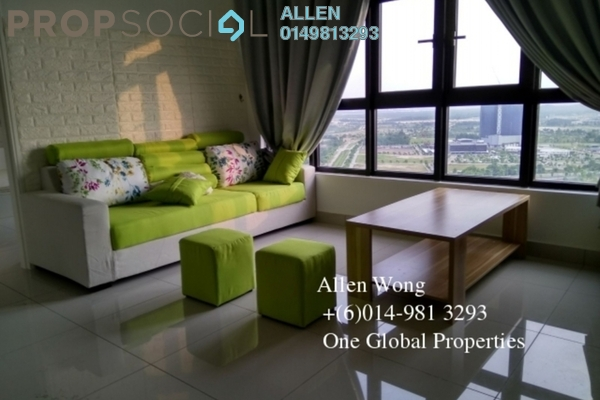 Condominium For Rent in The Meridin @ Medini, Medini Leasehold Fully Furnished 1R/1B 1.3k