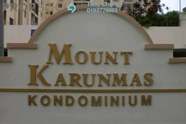 Condominium For Sale in Mount Karunmas, Balakong Freehold Semi Furnished 3R/2B 300k