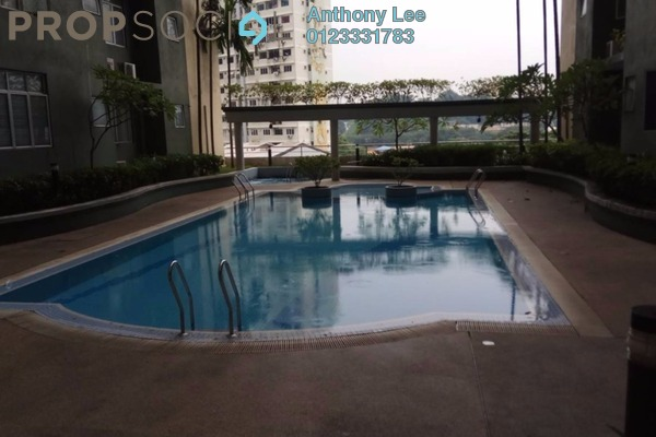 Condominium For Sale in Sri Impian, Brickfields Freehold Fully Furnished 4R/2B 848k