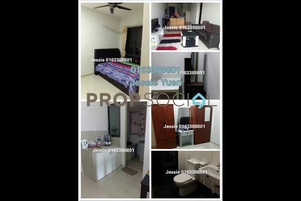 Condominium For Rent in Univ 360 Place, Seri Kembangan Freehold Fully Furnished 3R/2B 1.7k