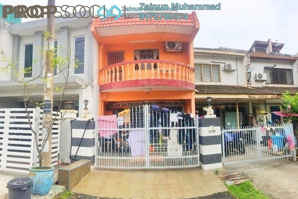 Terrace For Sale in Pandan Jaya, Pandan Indah Leasehold Unfurnished 3R/2B 450k