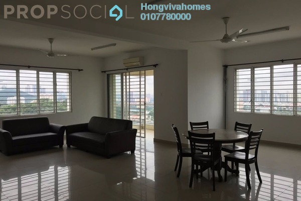 Condominium For Rent in Platinum Hill PV8, Setapak Freehold Semi Furnished 4R/2B 2.2k