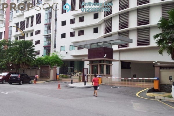 Condominium For Sale in Residency Mutiara, Brickfields Freehold Fully Furnished 4R/4B 1.05m