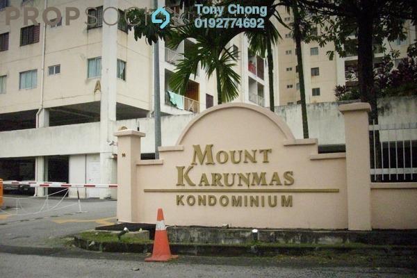 Condominium For Sale in Mount Karunmas, Balakong Freehold Semi Furnished 3R/2B 250k