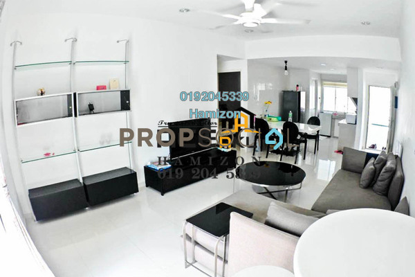 Condominium For Sale in Fawina Court, Ampang Freehold Fully Furnished 2R/2B 365k