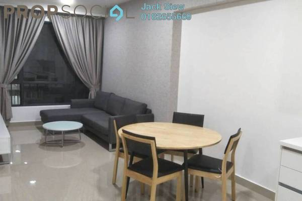 Condominium For Rent in Eclipse Residence @ Pan'gaea, Cyberjaya Freehold Fully Furnished 2R/2B 1.8k