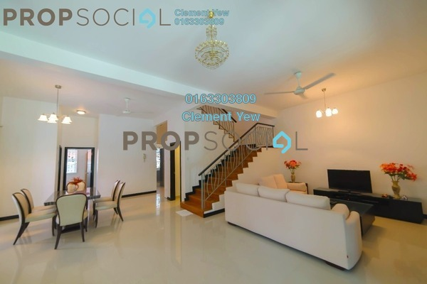 Semi-Detached For Sale in Setia Eco Park, Setia Alam Freehold Fully Furnished 4R/4B 2.05m