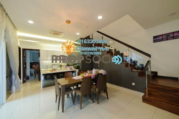 Semi-Detached For Sale in Setia Eco Park, Setia Alam Freehold Fully Furnished 5R/5B 2.4m
