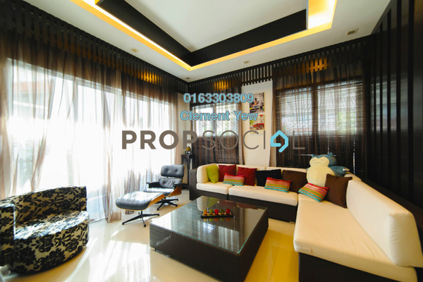 Semi-Detached For Sale in Setia Eco Park, Setia Alam Freehold Fully Furnished 4R/5B 1.98m