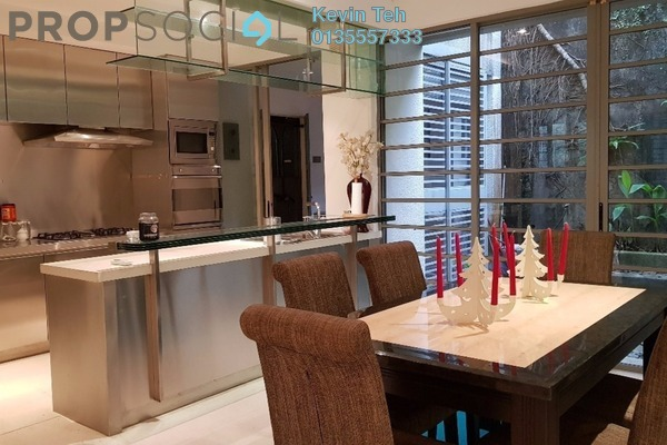Terrace For Sale in Federal Hill, Bangsar Freehold Semi Furnished 3R/4B 2.05m