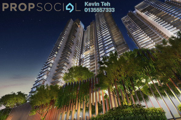 Condominium For Sale in Residensi 22, Mont Kiara Freehold Semi Furnished 4R/6B 2.63m