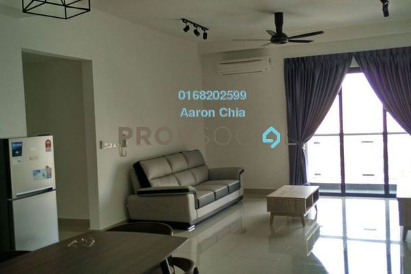 Serviced Residence For Rent in Glomac Centro, Bandar Utama Freehold Fully Furnished 3R/2B 2.55k