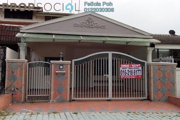 Terrace For Rent in SS3, Kelana Jaya Freehold Semi Furnished 2R/2B 1.85k
