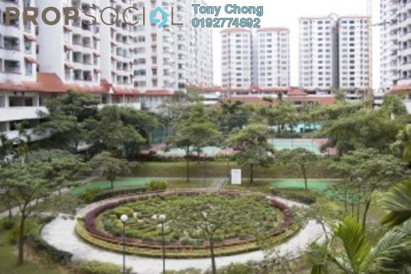 Condominium For Sale in Bukit OUG Condominium, Bukit Jalil Freehold Unfurnished 3R/2B 388k