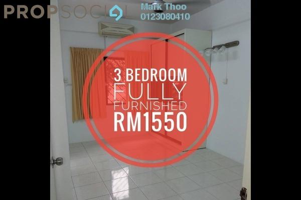 Condominium For Rent in Bukit Gembira Apartment, Kuchai Lama Freehold Semi Furnished 3R/2B 1.55k