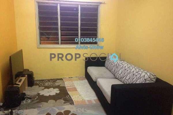 Apartment For Rent in Sri Penara, Bandar Sri Permaisuri Freehold Semi Furnished 3R/2B 1.1k
