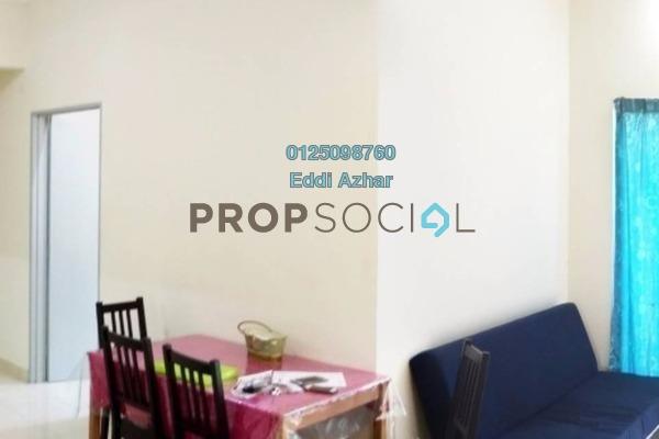 Apartment For Sale in Taman Suria Tropika, Bandar Putra Permai Freehold Fully Furnished 3R/2B 330k