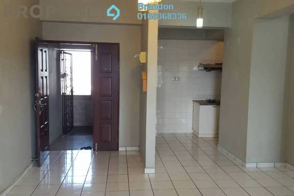 Condominium For Rent in Setapak Ria Condominium, Setapak Freehold Semi Furnished 3R/2B 1.25k