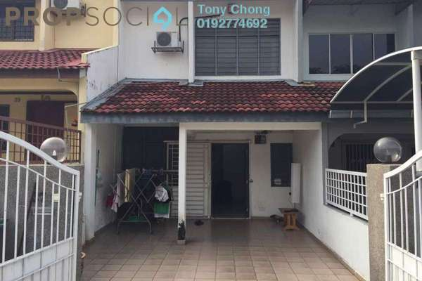 Terrace For Rent in Taman Delima, Cheras Freehold Semi Furnished 3R/2B 1.1k