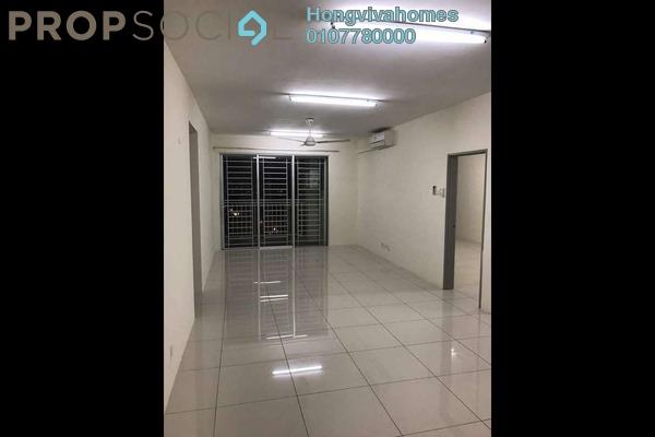 Condominium For Rent in Platinum Lake PV20, Setapak Freehold Semi Furnished 3R/2B 1.8k