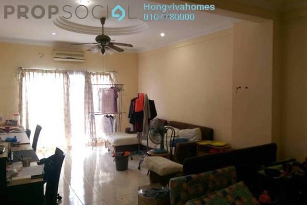 Condominium For Sale in Prima Setapak I, Setapak Freehold Semi Furnished 3R/2B 485k