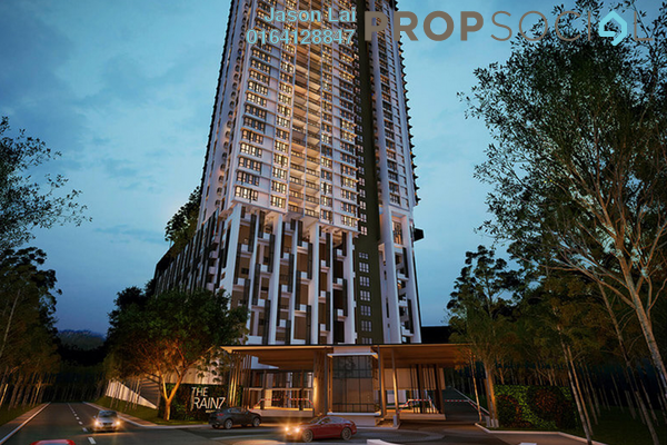 Condominium For Sale in The Rainz, Bukit Jalil Freehold Semi Furnished 4R/3B 1.03m