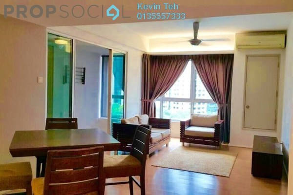 Condominium For Sale in i-Zen Kiara I, Mont Kiara Freehold Fully Furnished 2R/2B 780k