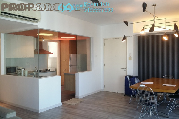 Condominium For Rent in i-Zen Kiara I, Mont Kiara Freehold Fully Furnished 2R/2B 3.5k