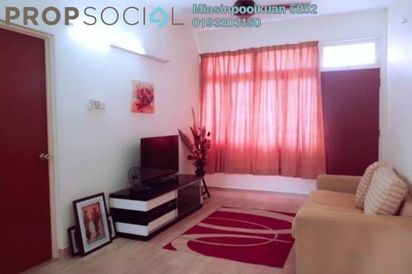 Apartment For Rent in Mahsuri Apartment, Setiawangsa Freehold Semi Furnished 2R/1B 1.4k