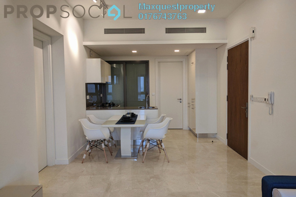 Condominium For Rent in The Sentral Residences, KL Sentral Freehold Fully Furnished 1R/0B 4k