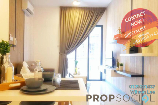 Condominium For Rent in South View, Bangsar South Freehold fully_furnished 2R/2B 3.1k