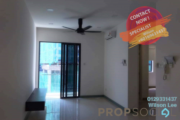 Condominium For Rent in South View, Bangsar South Freehold semi_furnished 2R/2B 2.5k