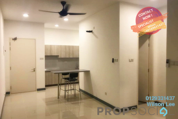 Condominium For Sale in South View, Bangsar South Freehold semi_furnished 2R/2B 740k