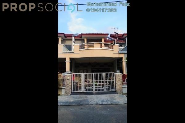 For Sale Terrace at Taman Impian Indah, Bukit Minyak Freehold Semi Furnished 4R/3B 495k