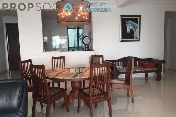 Condominium For Sale in Papillon Desahill, Taman Desa Freehold Fully Furnished 4R/2B 1.45m