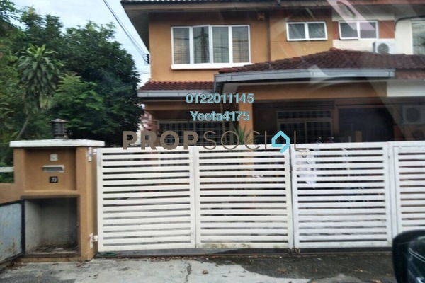 Terrace For Sale in Taman Taming Impian, Kajang Freehold Unfurnished 4R/3B 500k