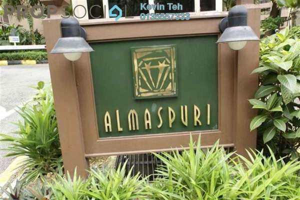 Condominium For Rent in Almaspuri, Mont Kiara Freehold Fully Furnished 4R/3B 3.5k