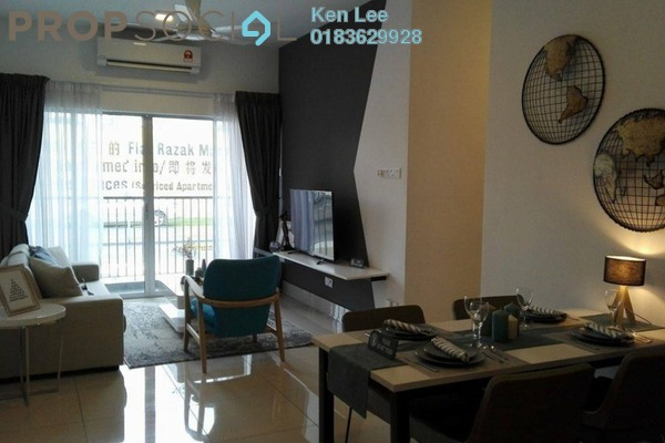 Serviced Residence For Sale in Razak City Residences, Sungai Besi Freehold Fully Furnished 2R/2B 358k