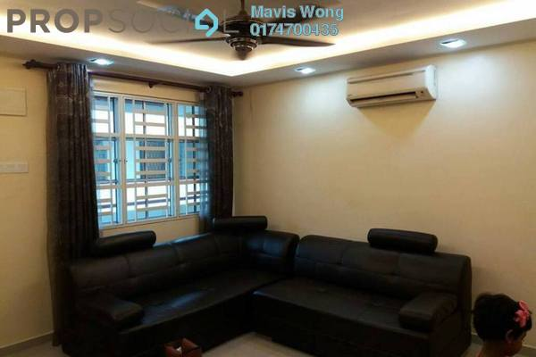 Apartment For Sale in Taman Lip Sin, Sungai Nibong Freehold Fully Furnished 3R/2B 400k