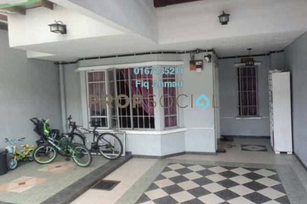 Terrace For Sale in Taman Dagang, Ampang Freehold Semi Furnished 4R/3B 698k