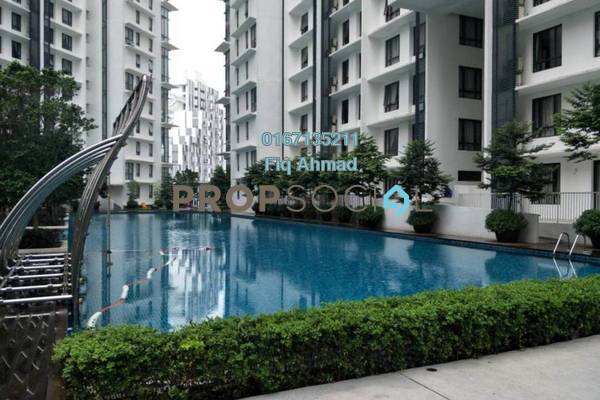 Condominium For Sale in Solstice @ Pan'gaea, Cyberjaya Freehold Fully Furnished 1R/1B 340k