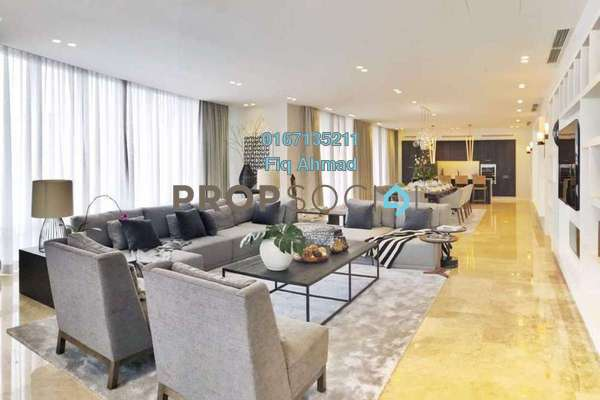 Condominium For Sale in The Oval, KLCC Freehold Fully Furnished 6R/6B 9.8m
