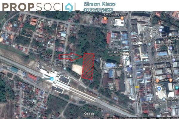 Land For Sale in Taman Kolej, Alor Setar Freehold Unfurnished 0R/0B 5.2m