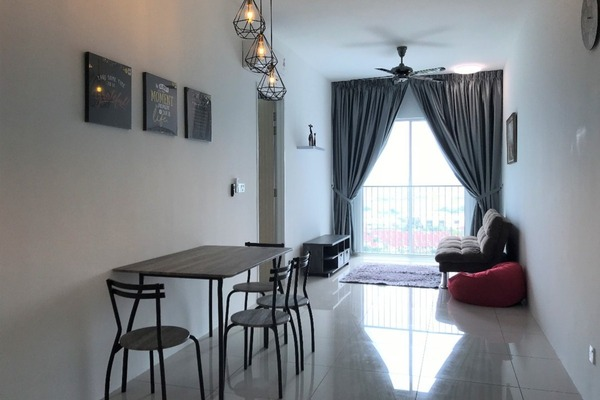 Condominium For Rent in The Clovers, Sungai Ara Freehold Fully Furnished 3R/2B 1.5k