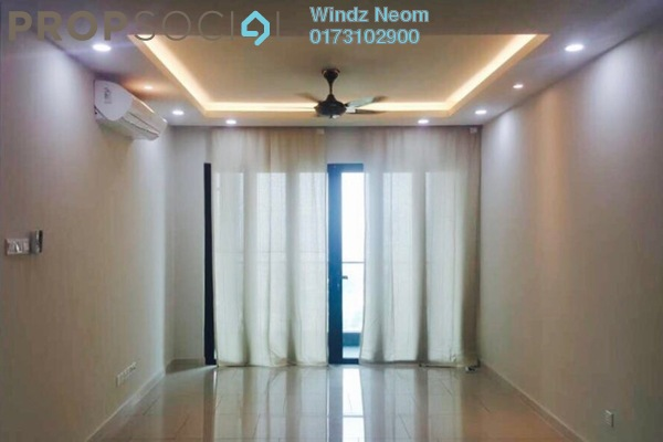 Condominium For Rent in The Reach @ Titiwangsa, Setapak Freehold Semi Furnished 3R/2B 2.6k