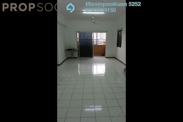 Condominium For Rent in Setapak Ria Condominium, Setapak Freehold Semi Furnished 3R/2B 1.3k