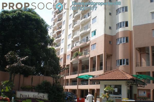 Condominium For Sale in Prima Setapak I, Setapak Freehold Semi Furnished 3R/2B 490k