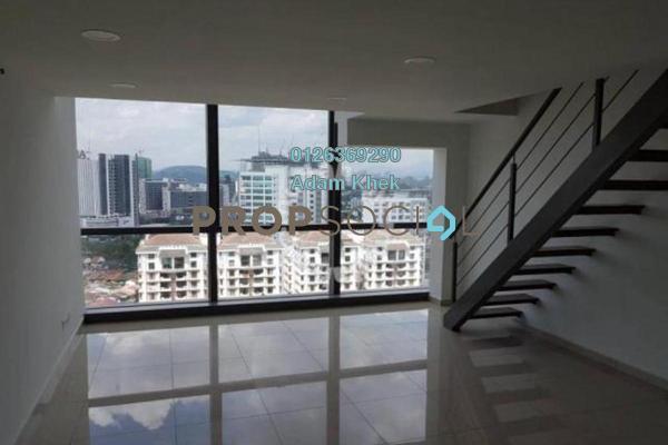 Duplex For Rent in Pinnacle, Petaling Jaya Freehold Semi Furnished 1R/2B 1.6k